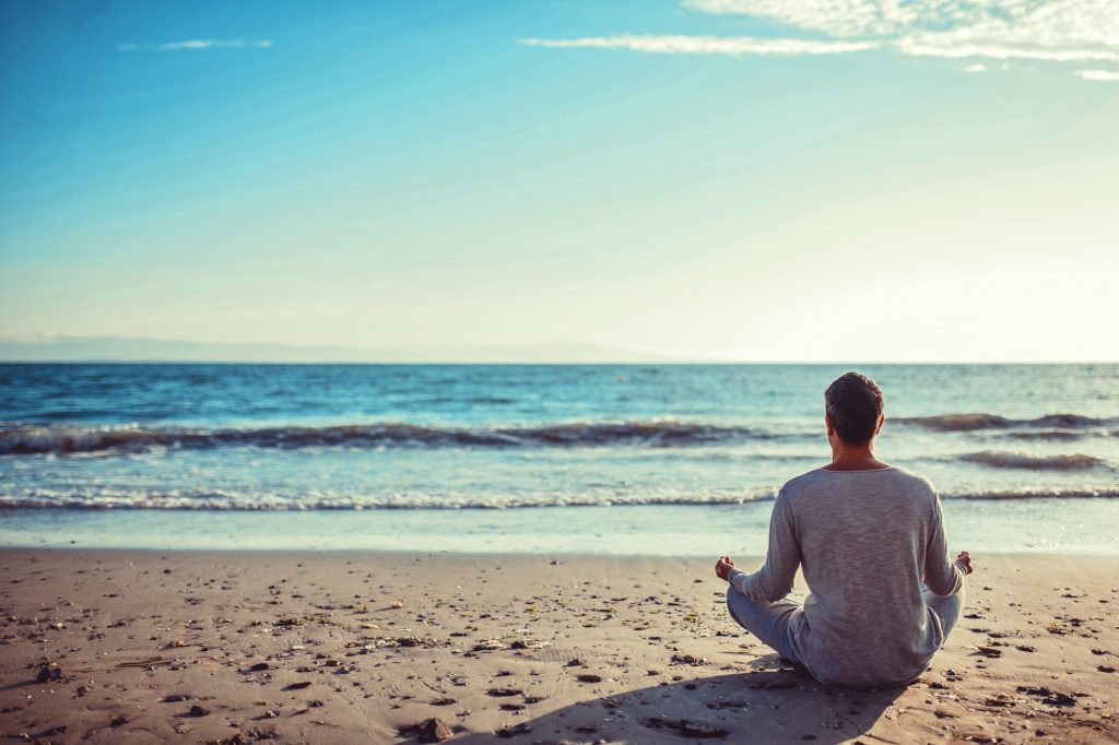 alone, asana, ashtanga, back, balance, beach, coast, concentration, exercise, harmony, health, healt